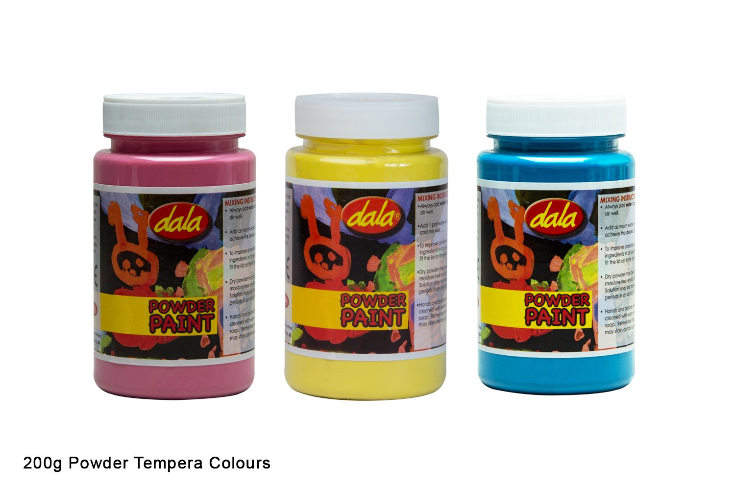 Powder Tempera - Standard Colours