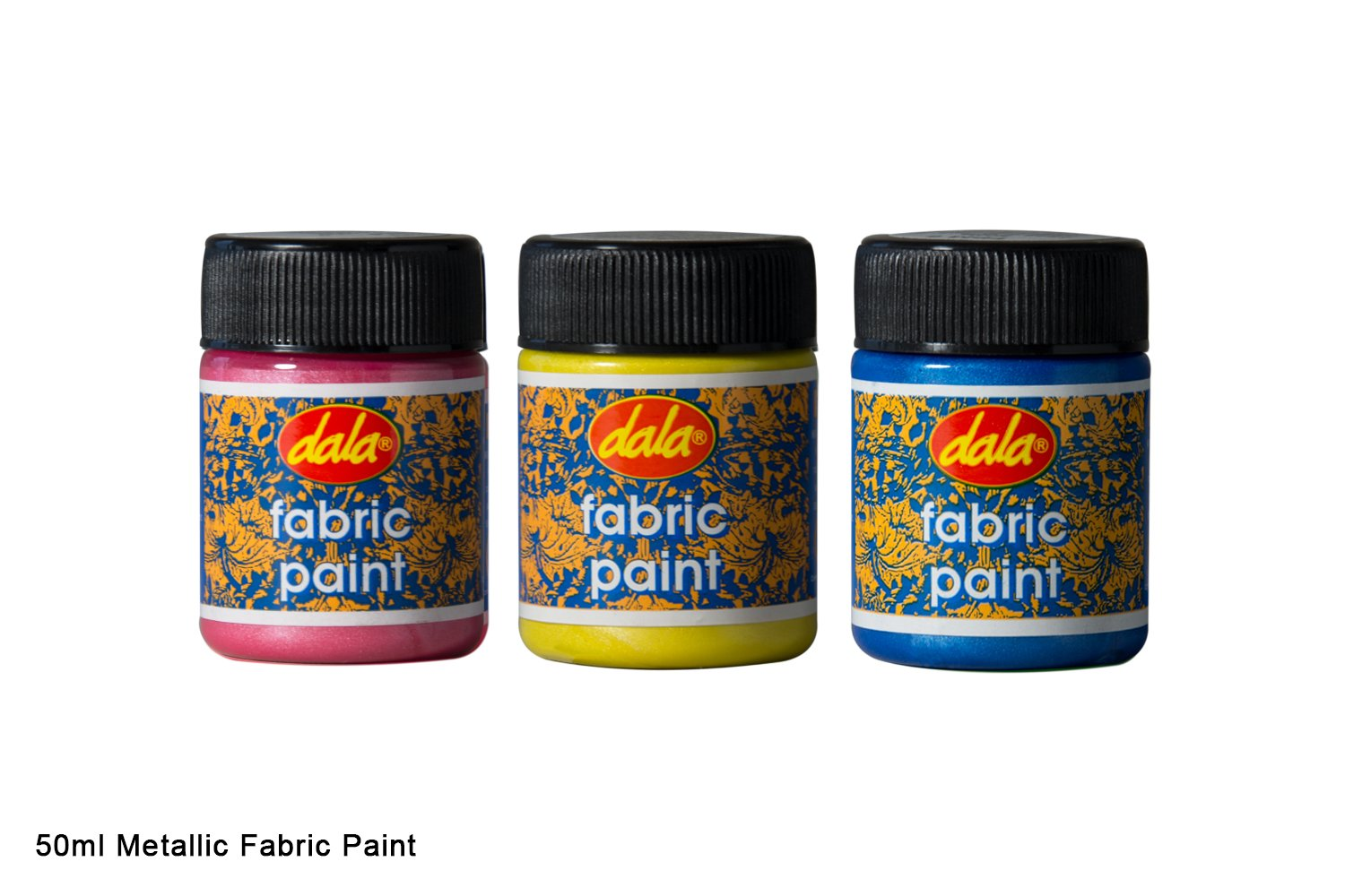 metallic fabric paint dala