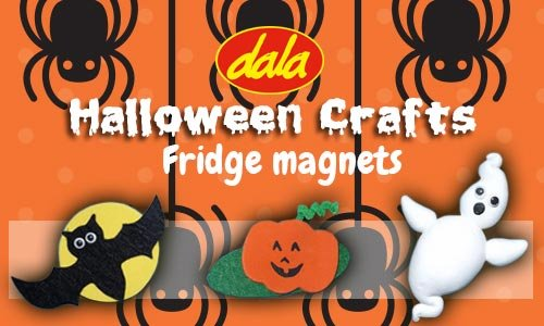Halloween Fridge Magnets
