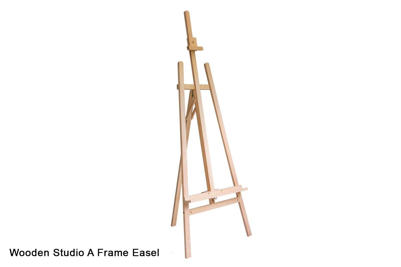 Wooden Studio A Frame Easel - - Dala