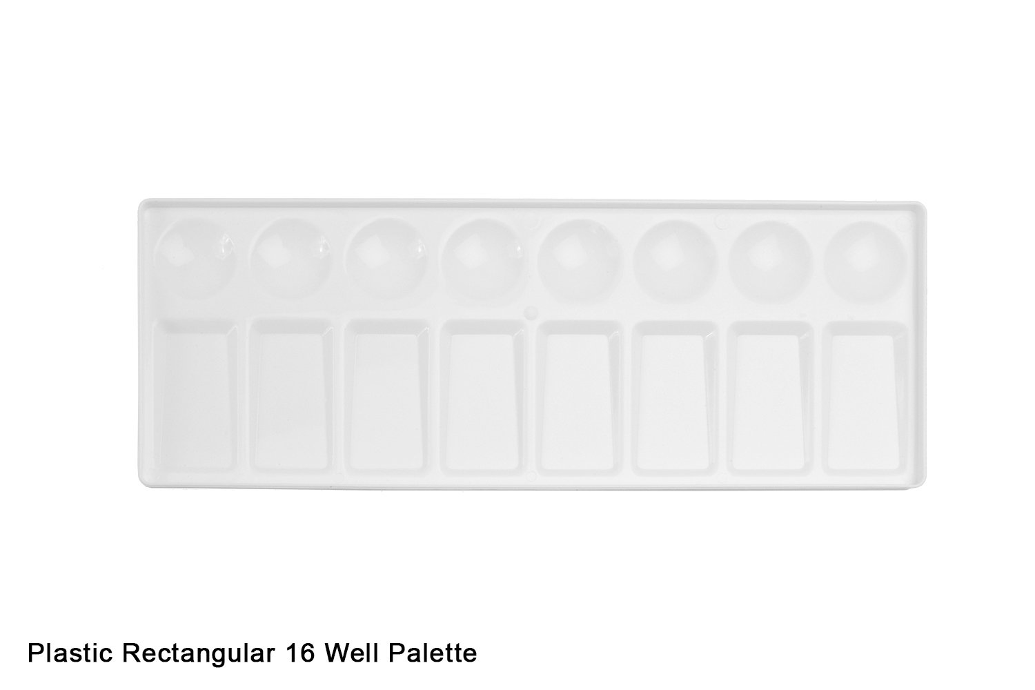 16 Well Rectangular Plastic Palette