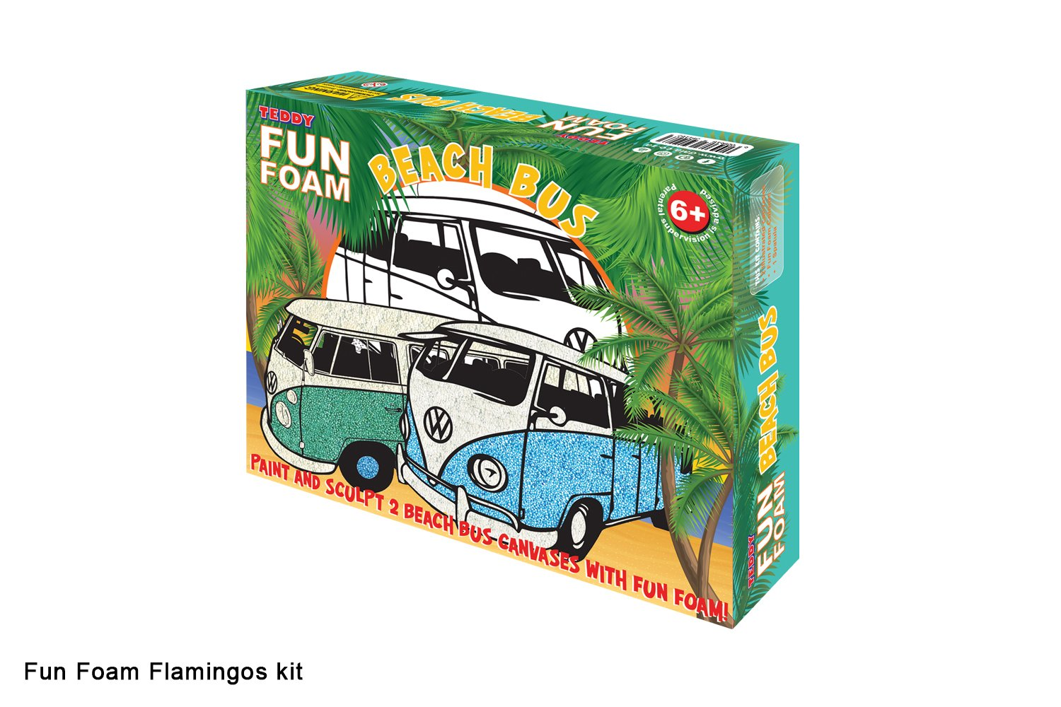 Fun Foam Beach Bus Kit