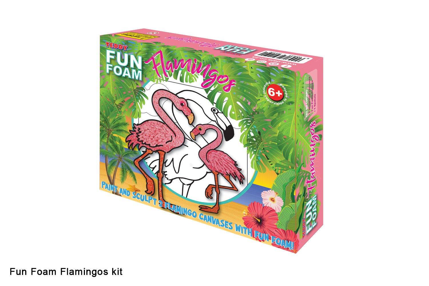 Fun Foam Flamingos Kit