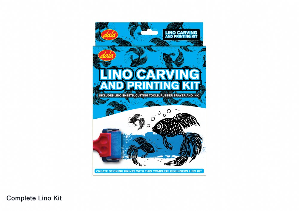 Lino Carving & Printing Kit